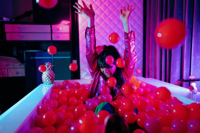 in-suite ball pit at w london
