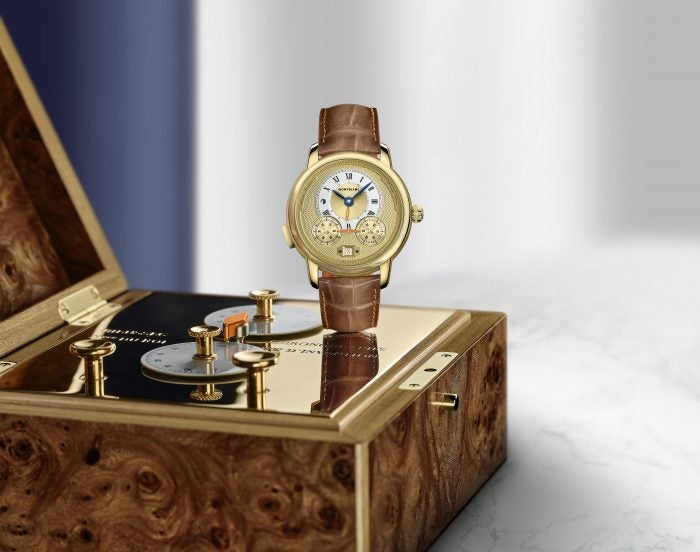 Montblanc's homage to an earlier design.