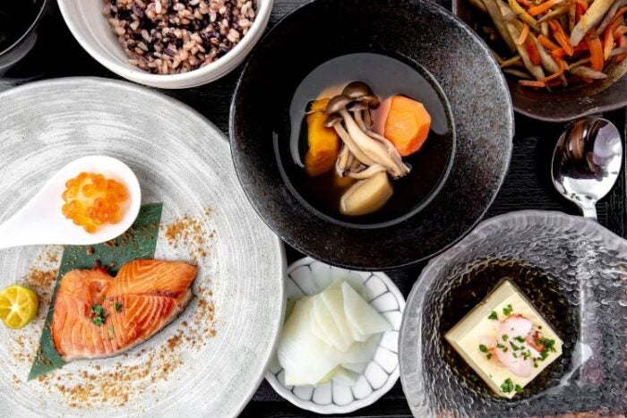 Dishes from the Nobu Kitchen