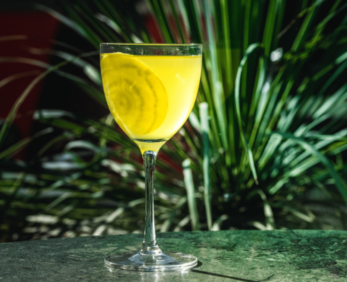 fig leaf tequila day cocktail by Mace bar