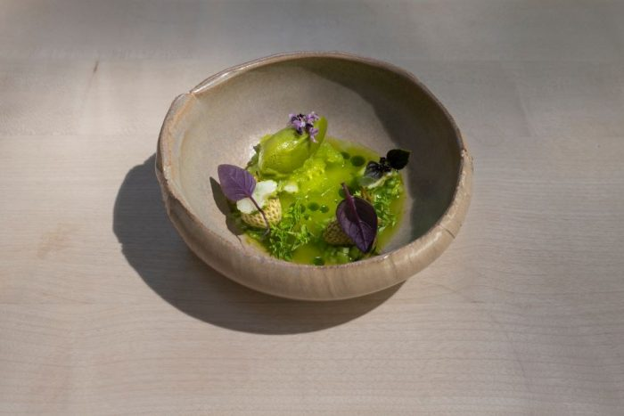 Basil, celery and green strawberry - Oz