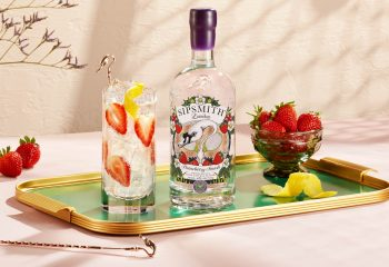 sipsmith strawberry smash wimbledon collins cocktail