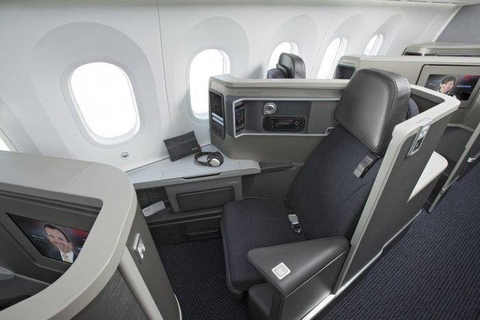 American Airlines first class, one of the best providers available