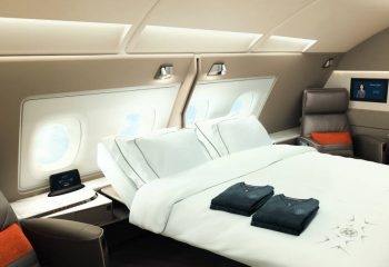 The Double Suite available at SIngapore Airlines