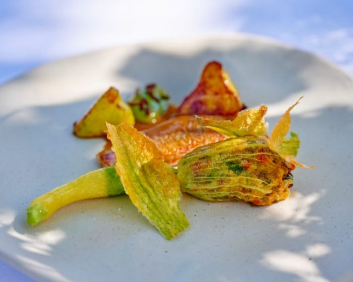 Courgette Flower Dish