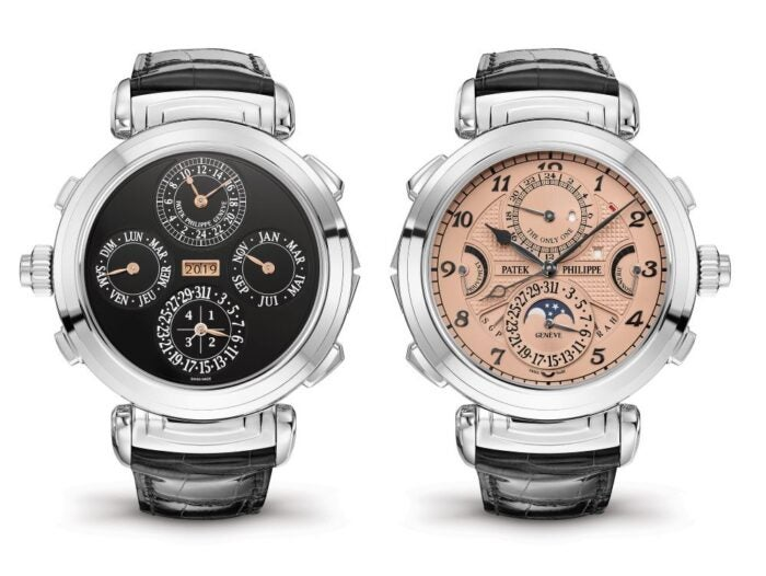 Patek Philippe grandmaster Chime Most expensive watch sold at auction