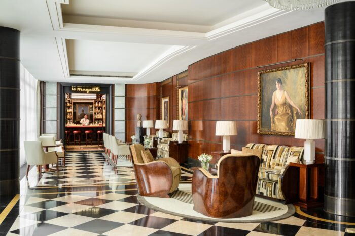 the beaumont hotel london lobby