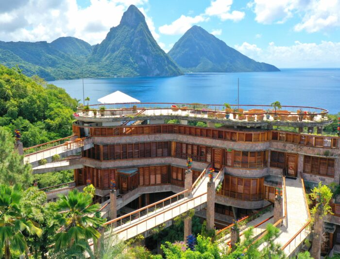 An overview of Jade Mountain