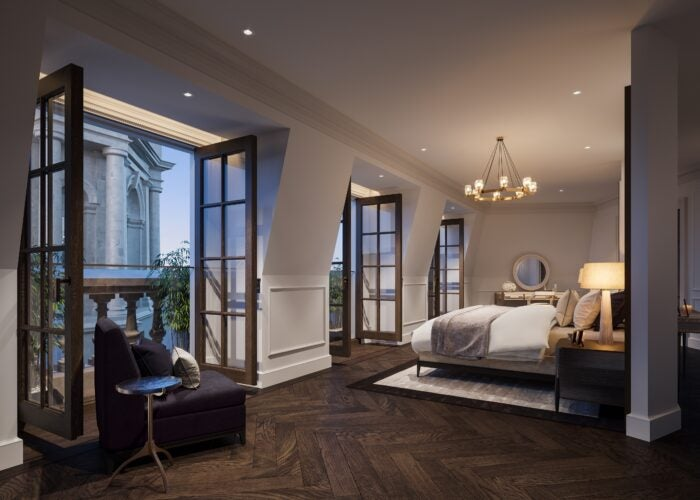 Bedroom at the OWO Residences