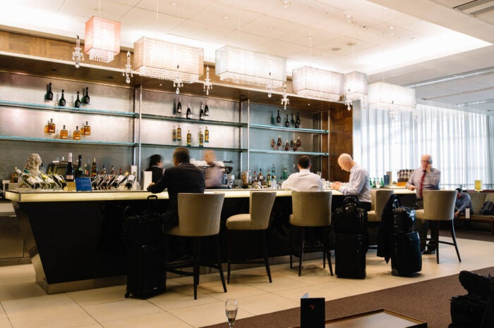 Concorde room first class lounges