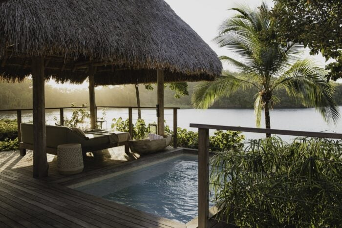 islas secas guest suite with pool and view