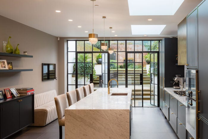 Kitchen - Old Church Street Chelsea Property For Sale
