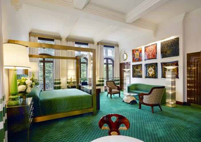 the hermes suite at the milestone hotel