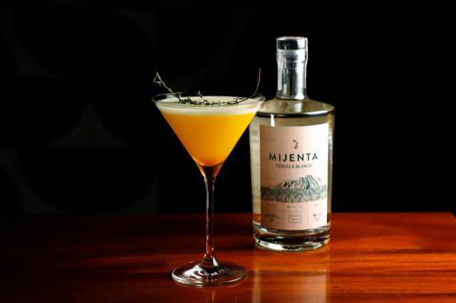 mayas nectar cocktail by mijenta tequila for mexican independence day
