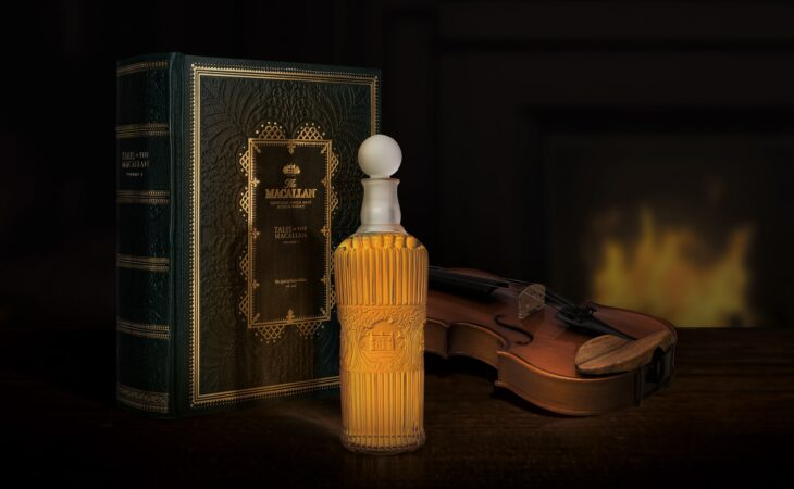 tales of the macallan decanter and book