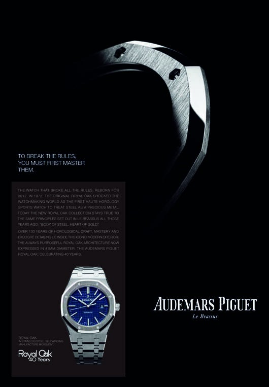 audemars piguet launches new campaign elite traveler