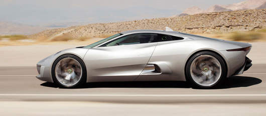 Jaguar Supercar Named Concept Car Of The Year