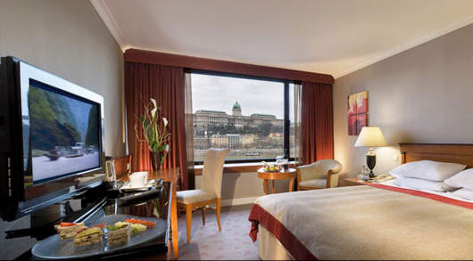 InterContinental Budapest Suite Bedroom
