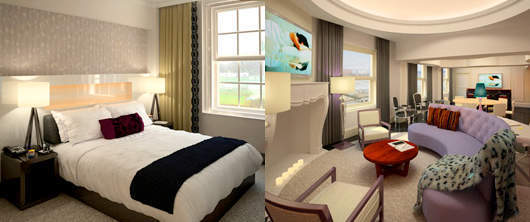 W Washington DC - Guestroom and E Wow Suite