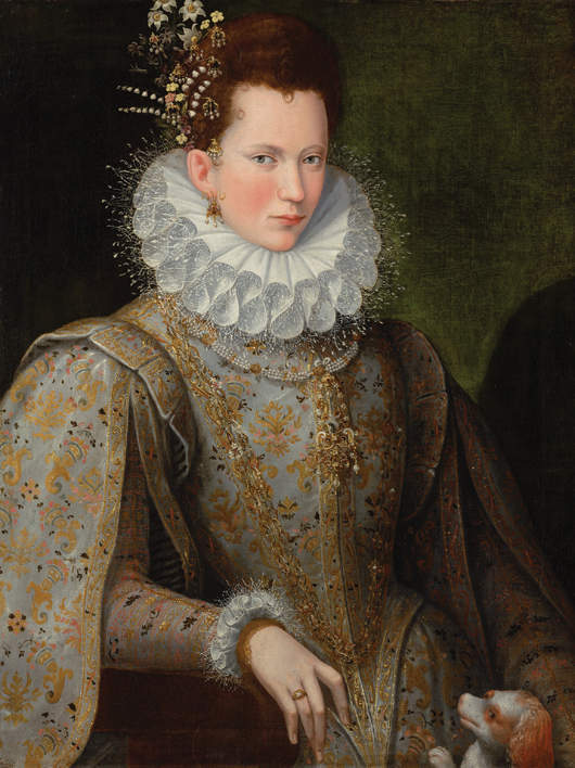 Portrait Of A Lady / Courtesy Of Philip Mould