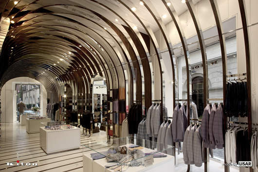 Kiton opens boutique in rome elite traveler for Boutique rome