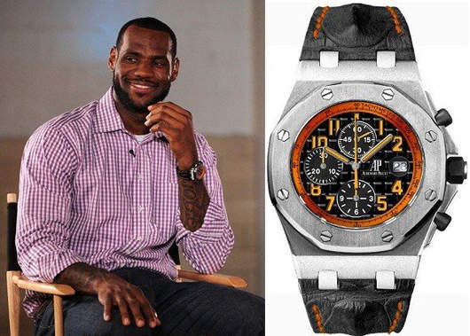 Audemars Piguet Watch Lebron James