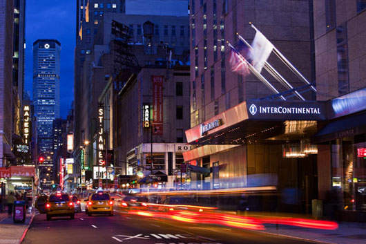 Intercontinental New York Times Square Achieves Leed