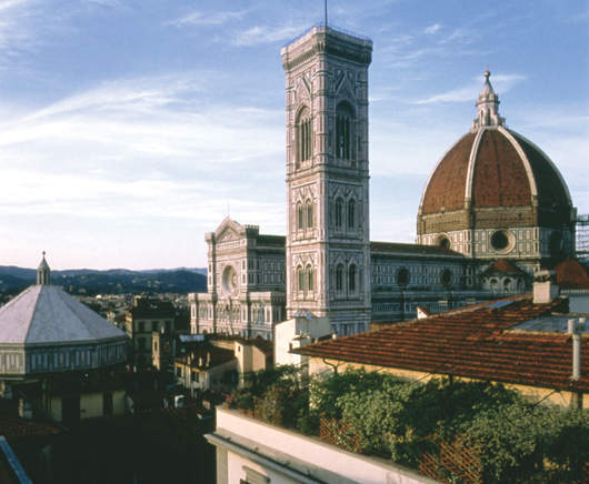 View, Hotel Savoy, Florence