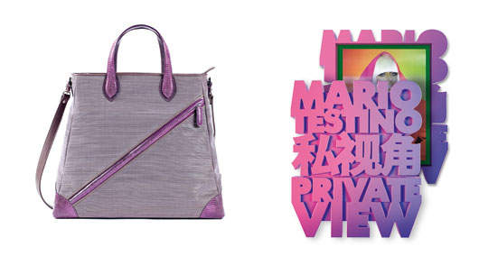 Vong tote by Be Inthavong / <em>Mario Testino, Private View</em> by Taschen