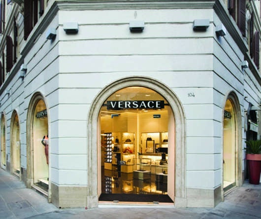 Versace opens new boutique in rome elite traveler for Boutique rome